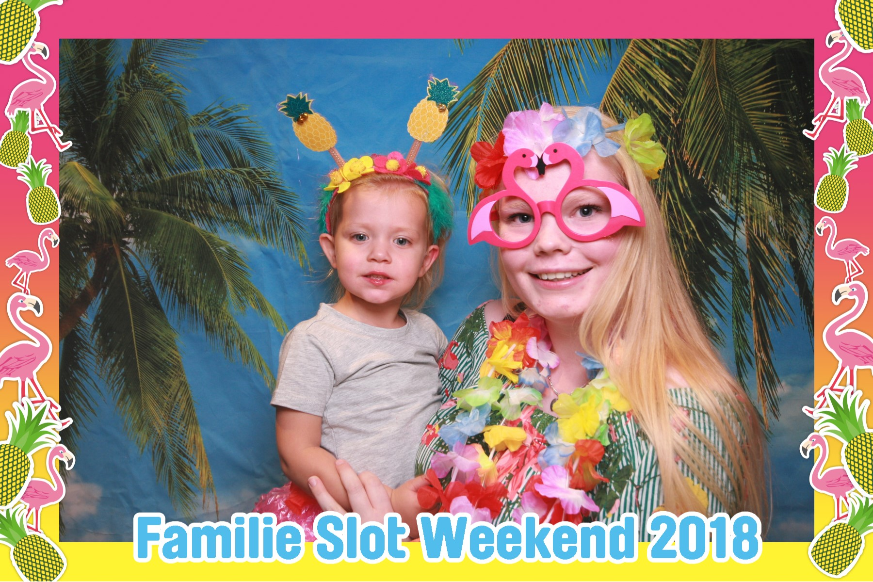Beach party fotobooth