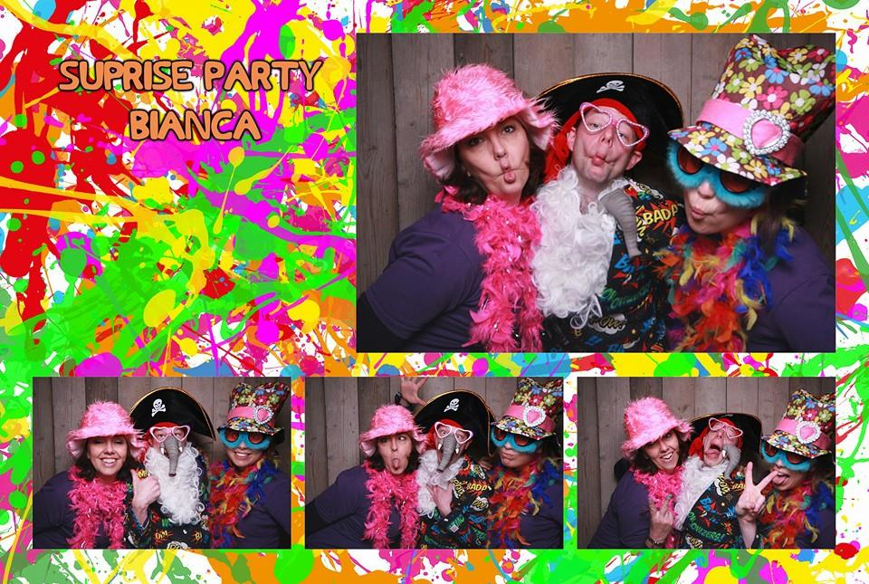 Foute party photobooth