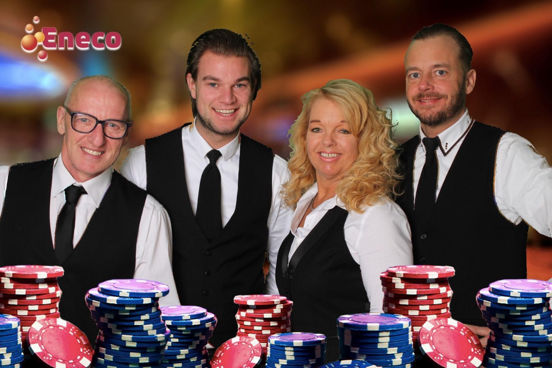 Green screen casino