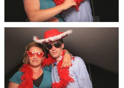 Huwelijk photobooth