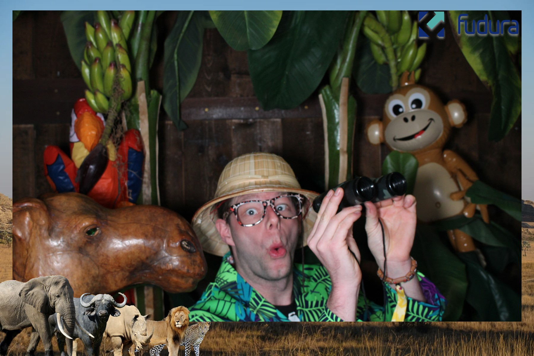 Jungle photobooth