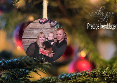 Kerstbal fotobooth