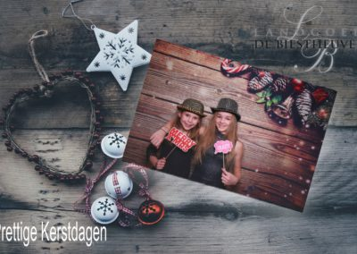 Kerstkaart photobooth