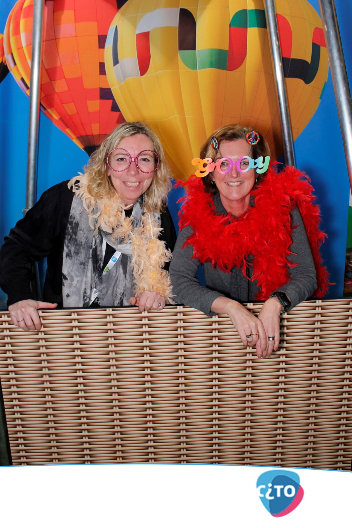 Marketing booth beurs