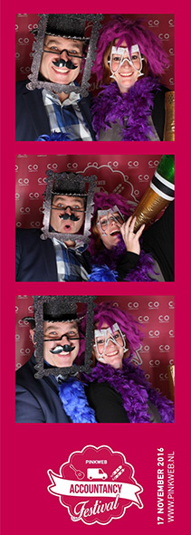 Pinkweb bedrijfsfestival photobooth
