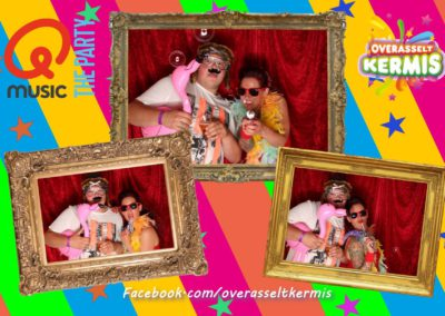 Q music foute party photobooth