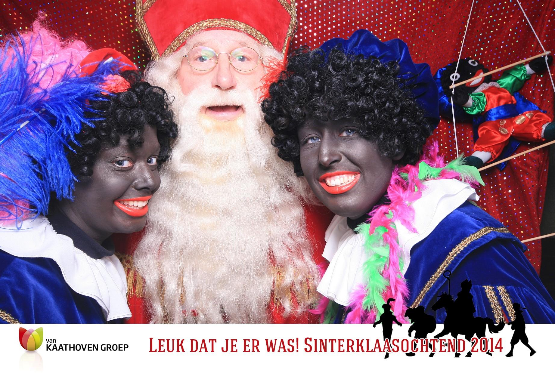 Sinterklaas photobooth