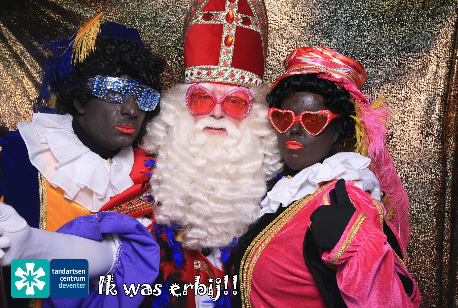 Sinterklaas voorprogramma photobooth