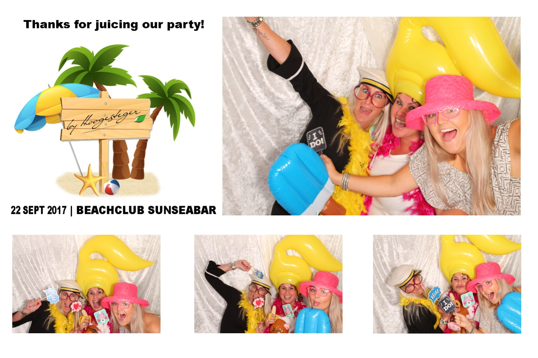 Zomer photo booth