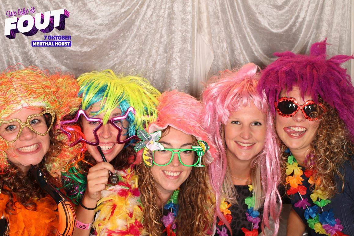 fout feest photobooth