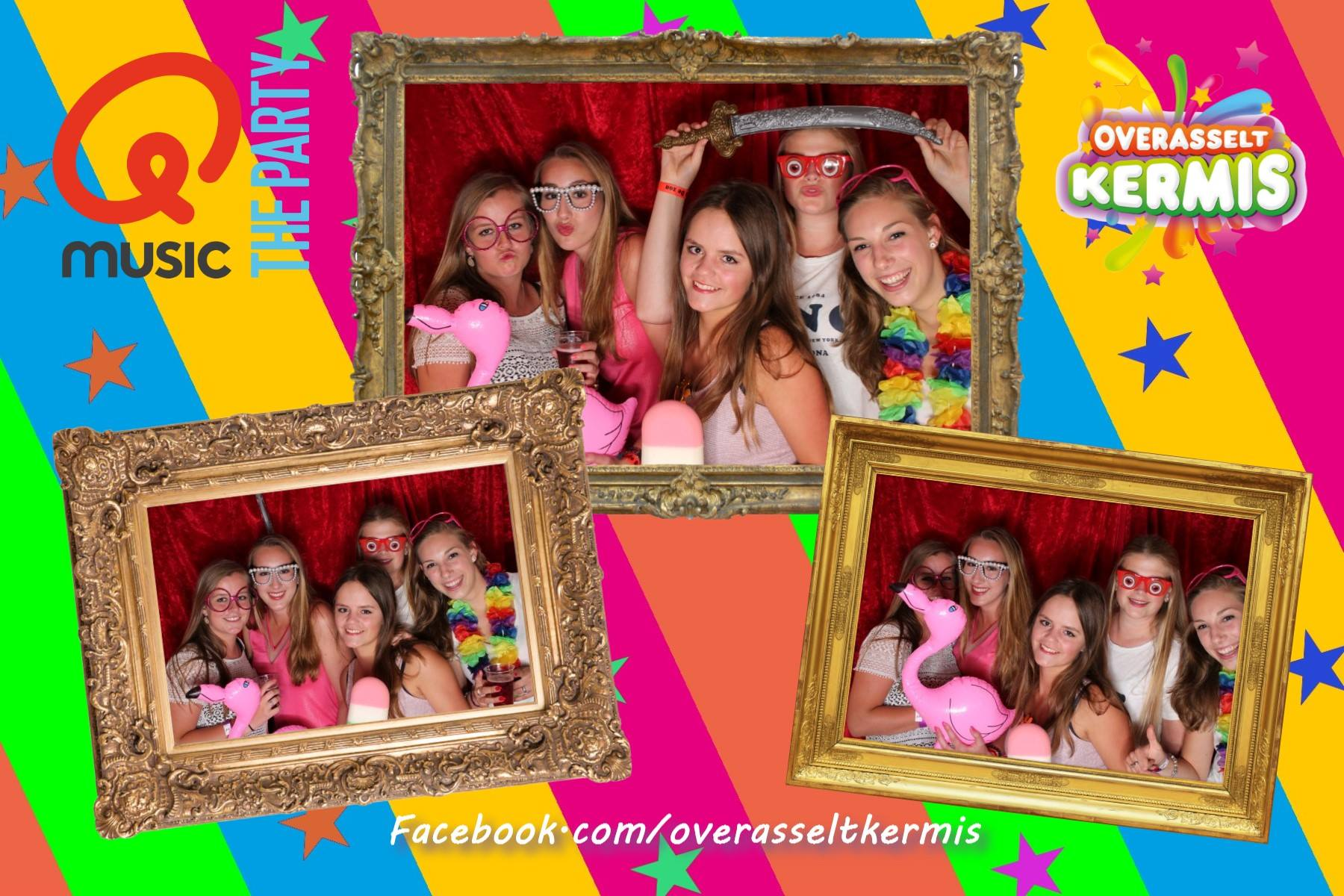 photobooth Q music foute party