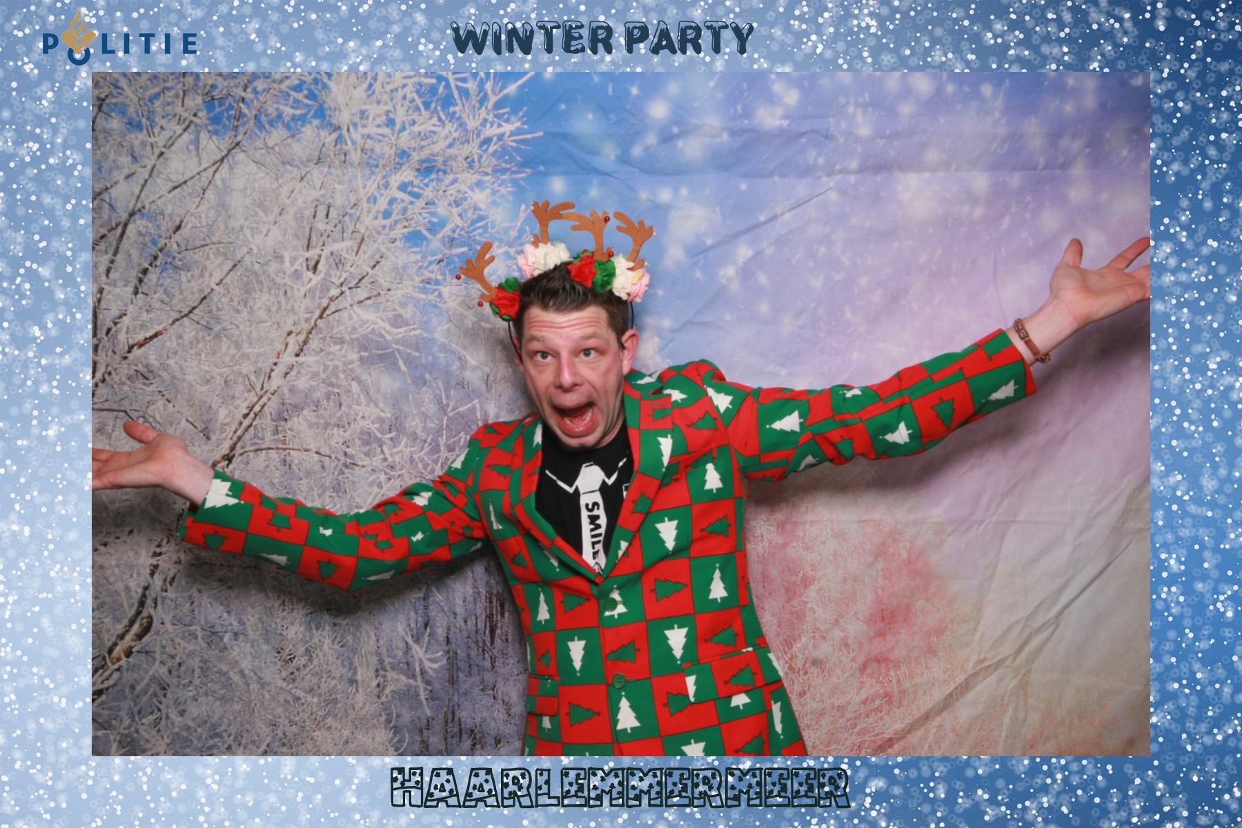 Winter photo booth!