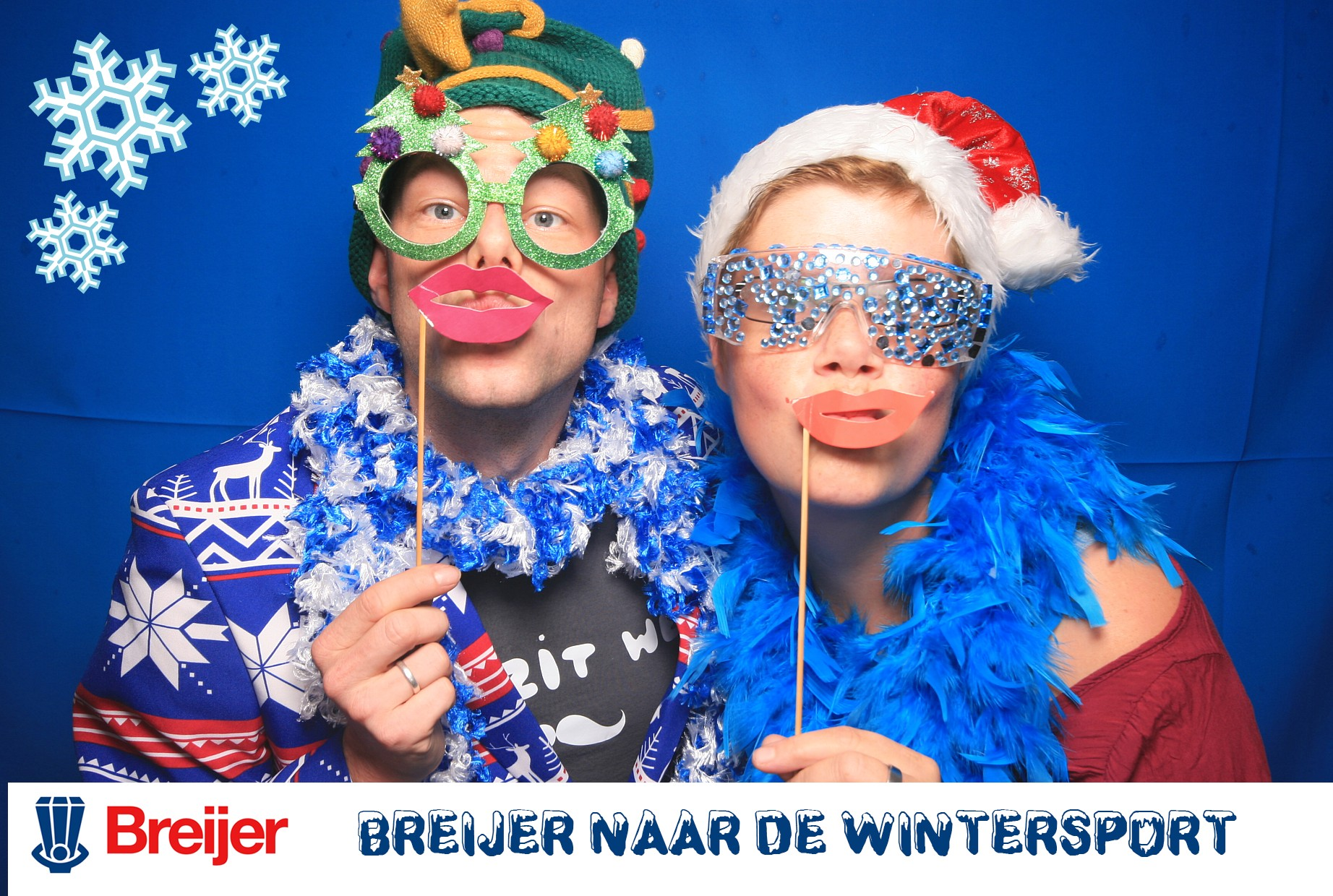 Wintersport photobooth