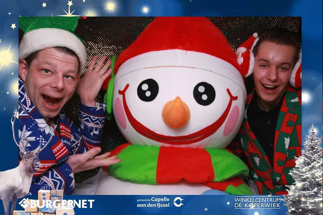 photobooth winkelcentrum kerst