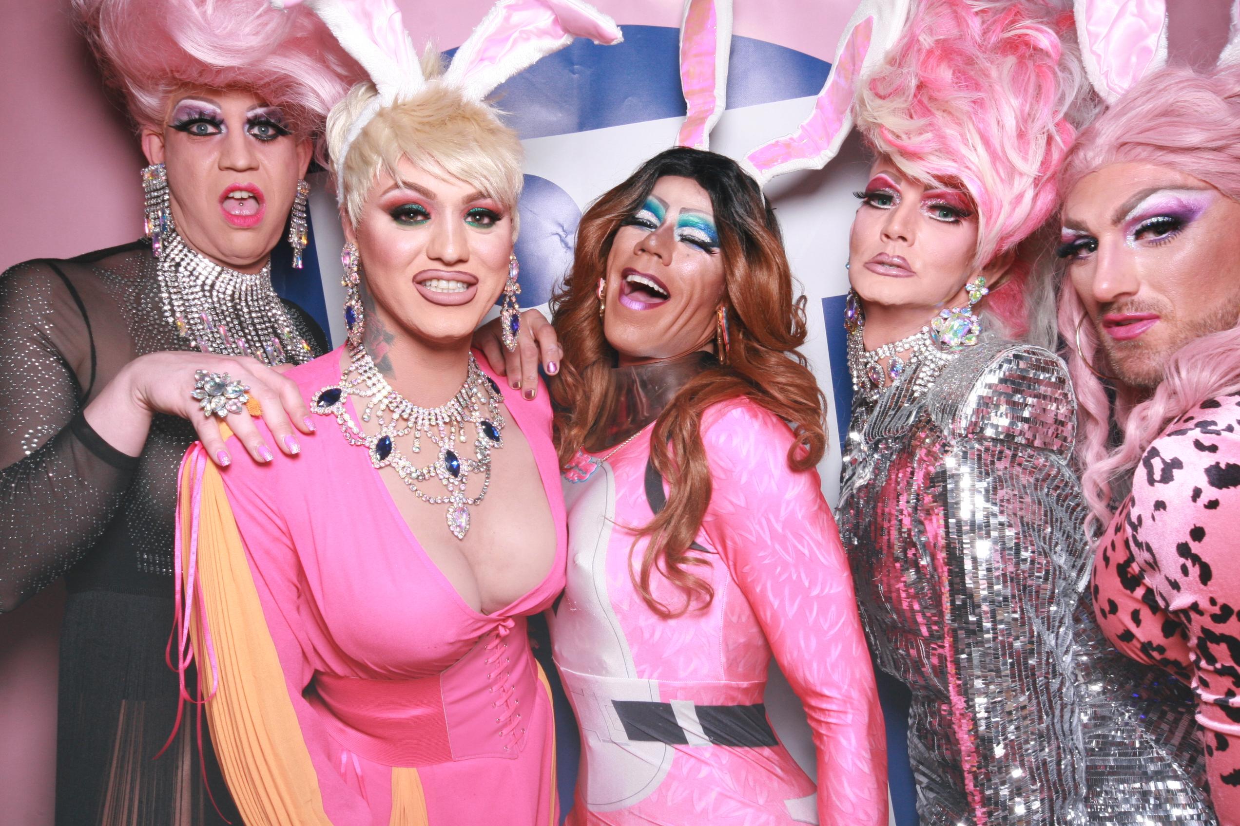 Photobooth drag queens IT aan de maas