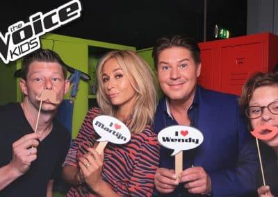Terugblik sponsorshoot 'The Voice Kids'