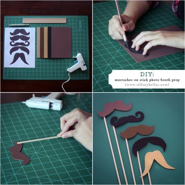 Voorkeur Zelf props en accessoires maken voor je photobooth - My Photobooth  IN35